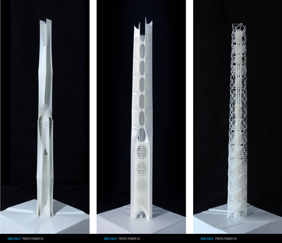 Rapid Prototype Towers - image by studio-b / DRX